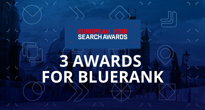 ESA 2018: Bluerank' s triple win