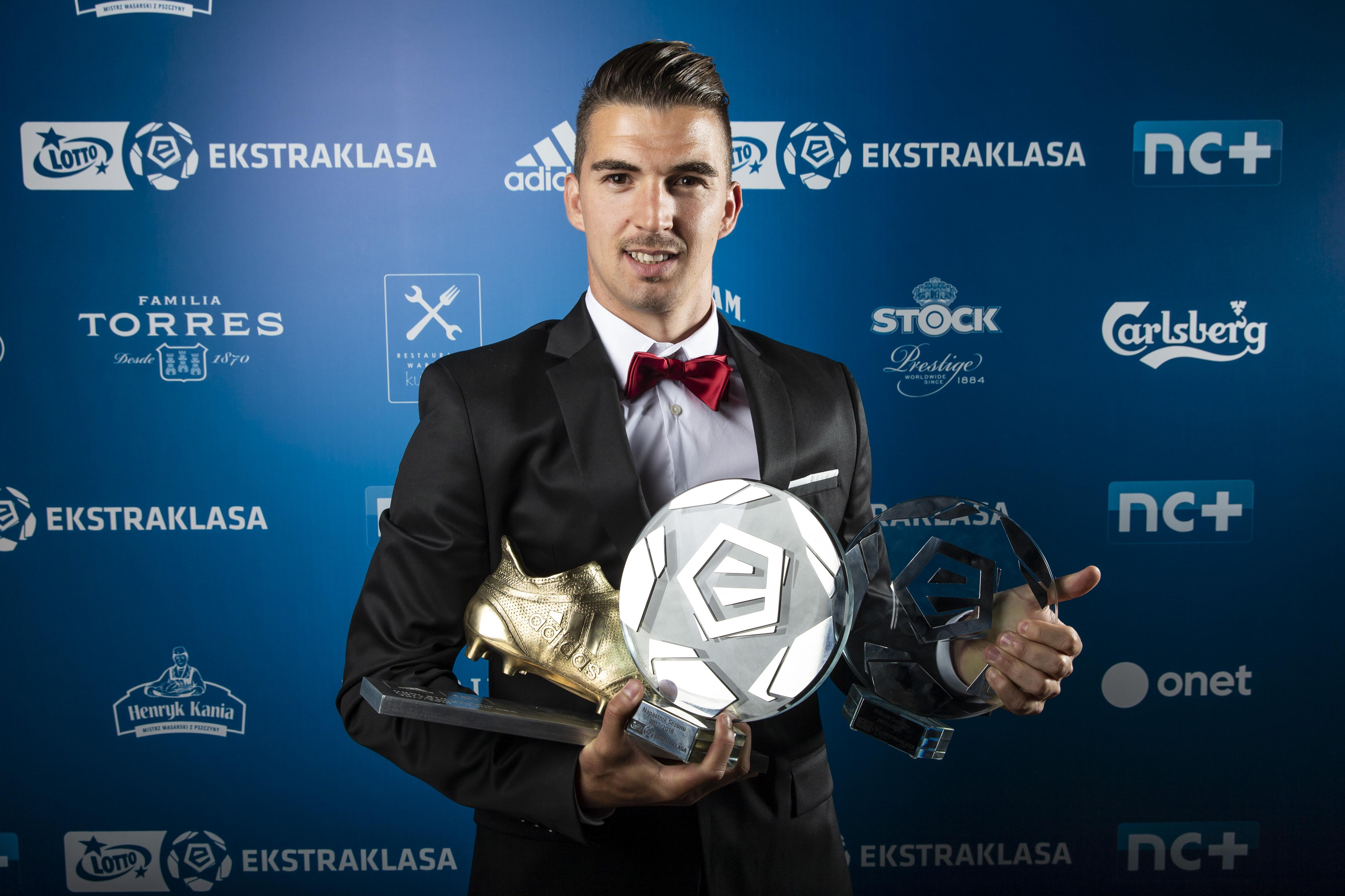 Gala Ekstraklasy – Carlitos piłkarzem sezonu 2017/2018