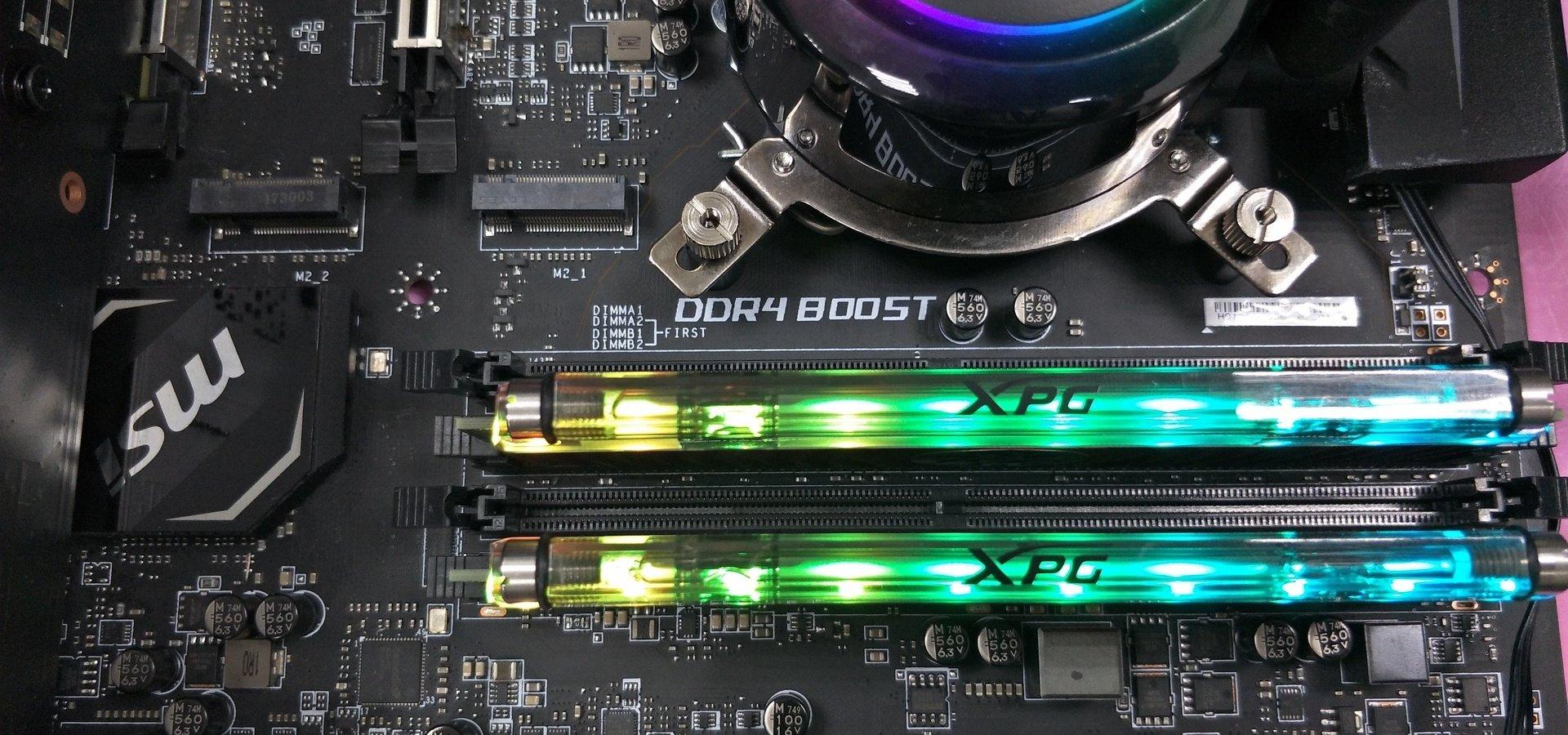 Nowy rekord OC - moduły ADATA XPG SPECTRIX D80 podkręcone do 5531 MHz!