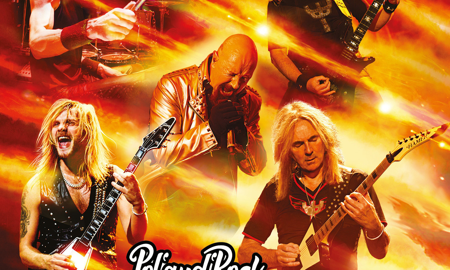 Judas Priest completes Pol'and'Rock Festival line-up