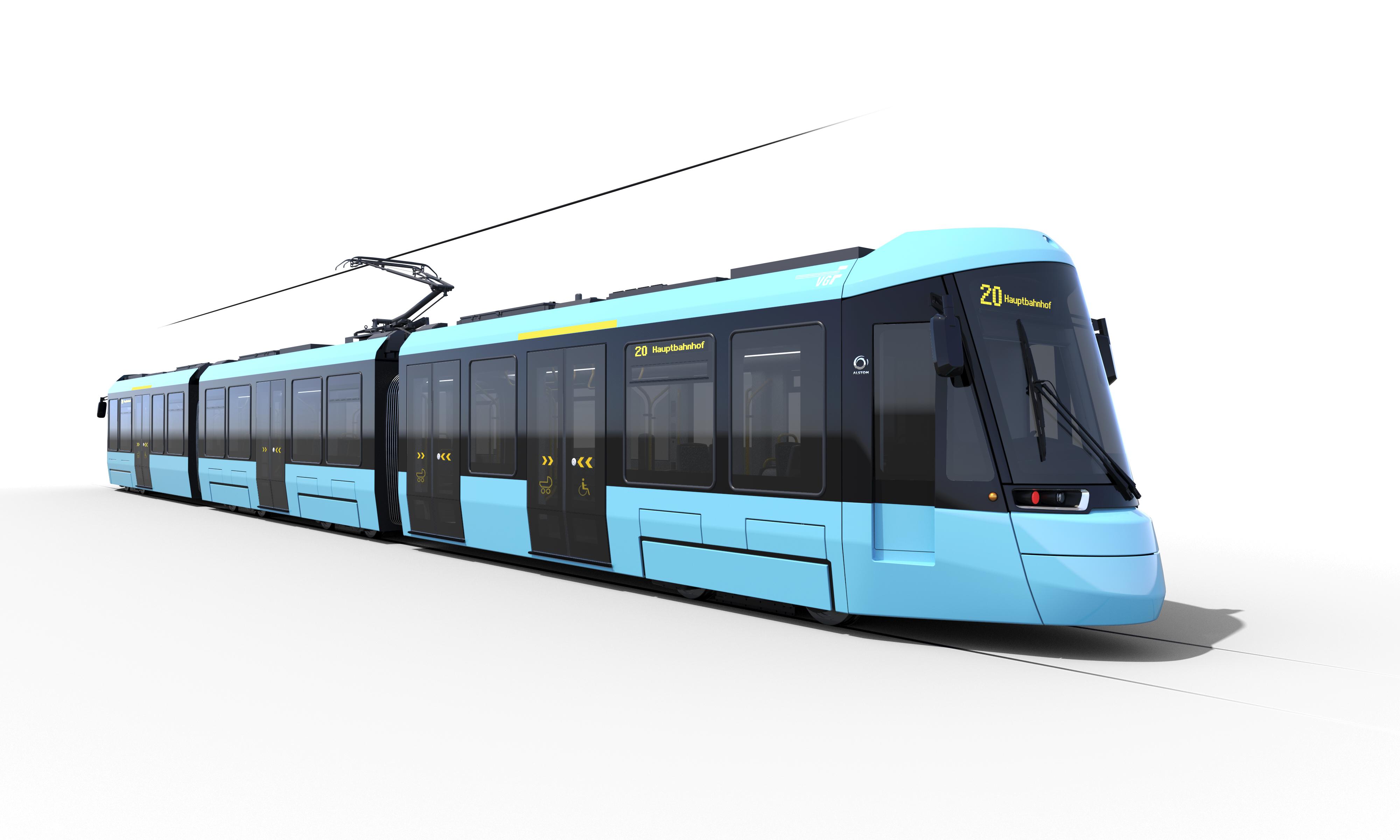 Alstom wraca na niemiecki rynek tramwajowy dostarczając 38 składów Citadis do Frankfurtu