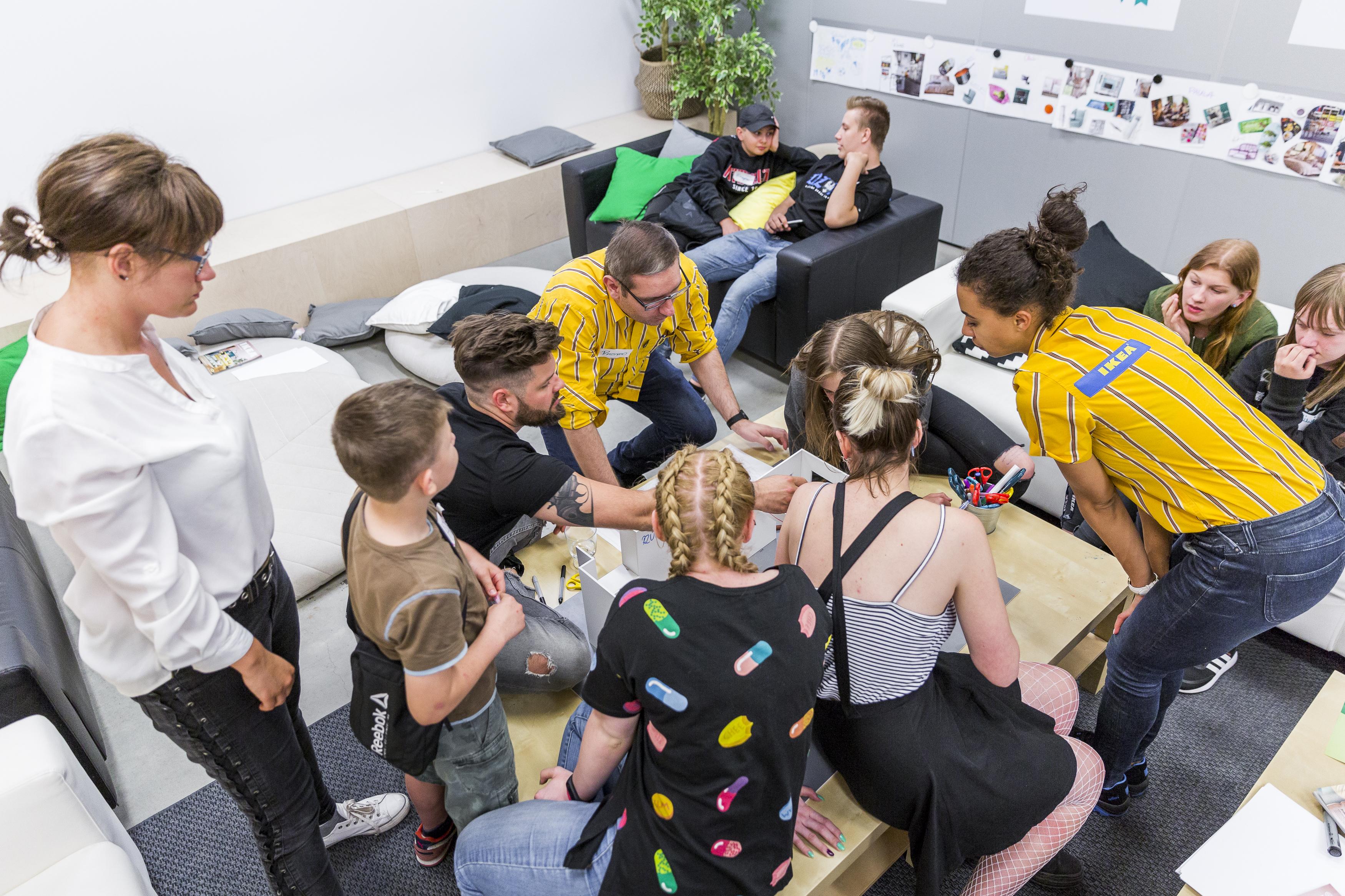 SPS RIPOSTA aktywnie pomaga młodzieży dzięki wsparciu IKEA