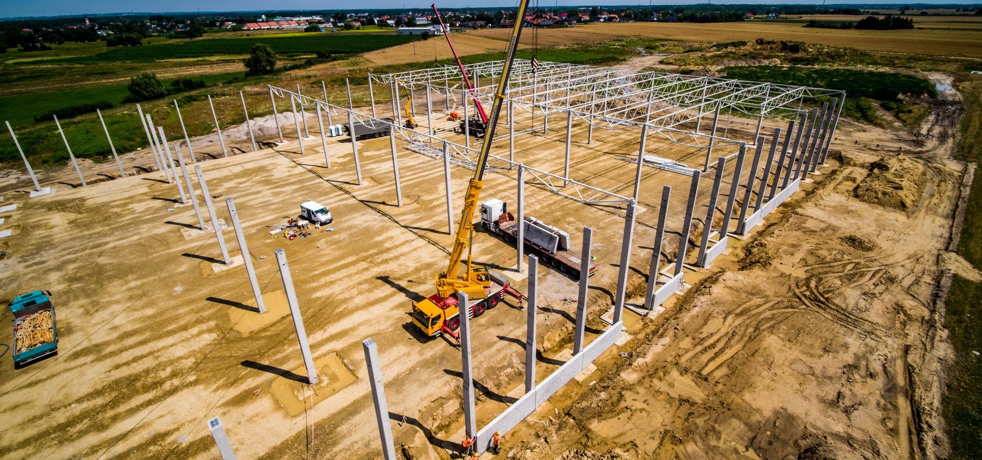 Antczak Construction buduje park magazynowy MLP Group