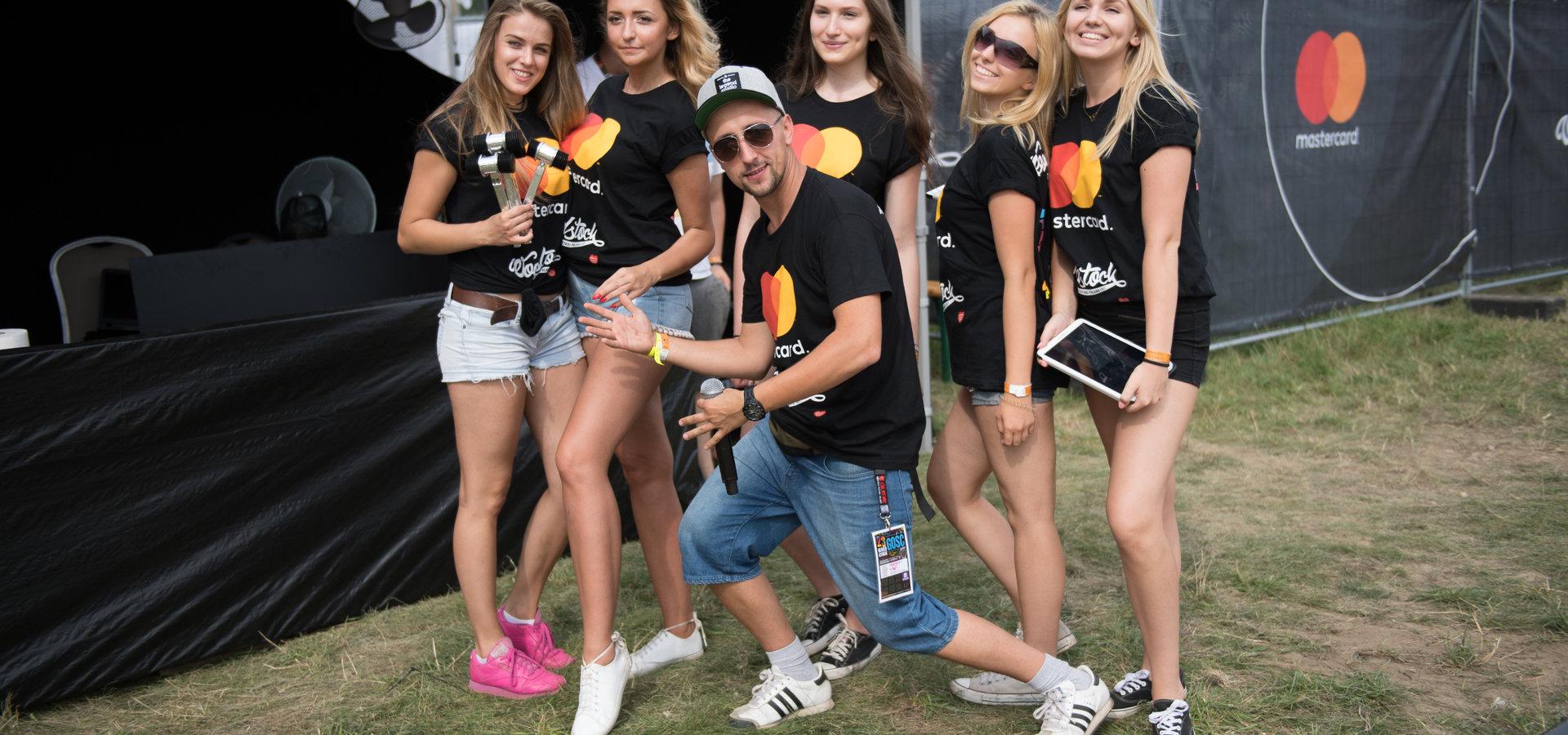 Mastercard na Pol'and'Rock Festival –  wyjątkowy gość, triathlon i bezcenne niespodzianki