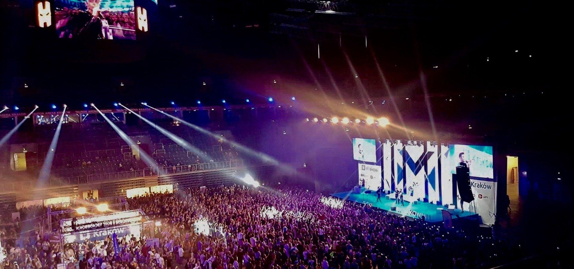 Spotkaj gwiazdy esportu na największej imprezie polskiej branży YouTube! MeetUp® 2018 już 1 września w krakowskiej Tauron Arenie!