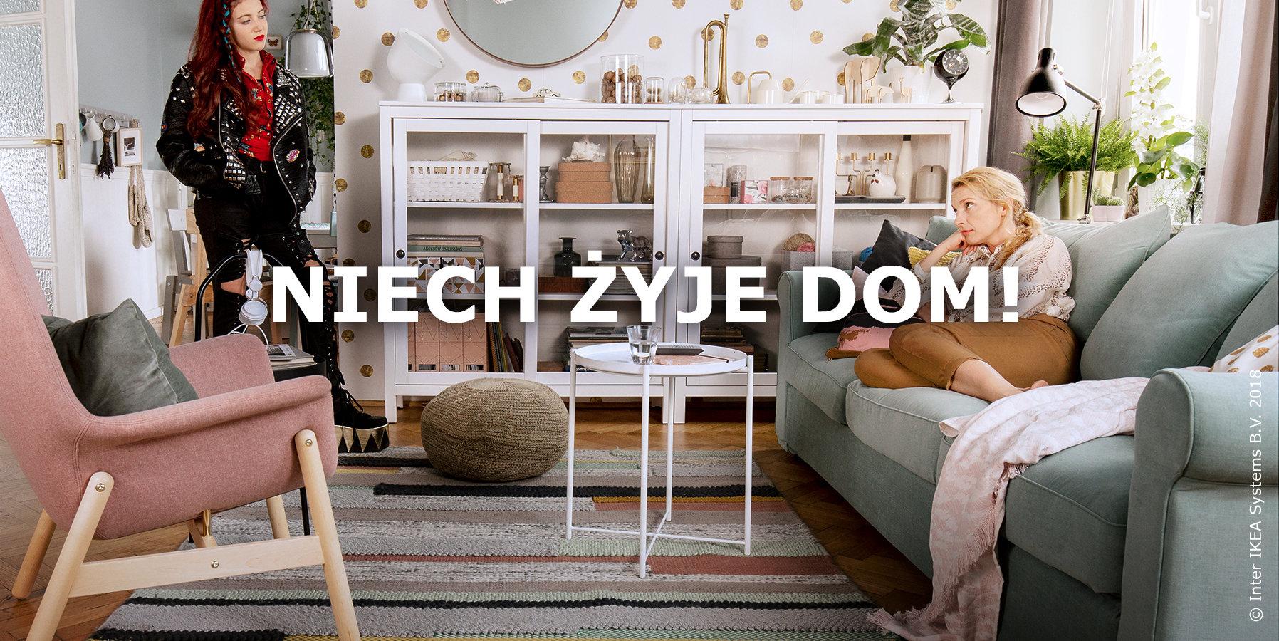 Każdy Dom jest inny, bo inni są jego domownicy. Nowa kampania IKEA mówi o tym, jak ważne są relacje w domu.
