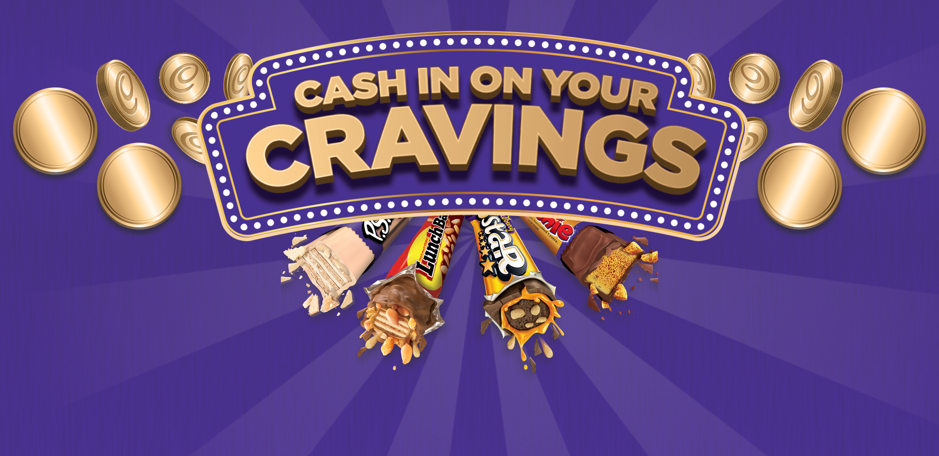 Cash in on your Cravings and stand a chance to WIN R10 000 everyday with Cadbury!