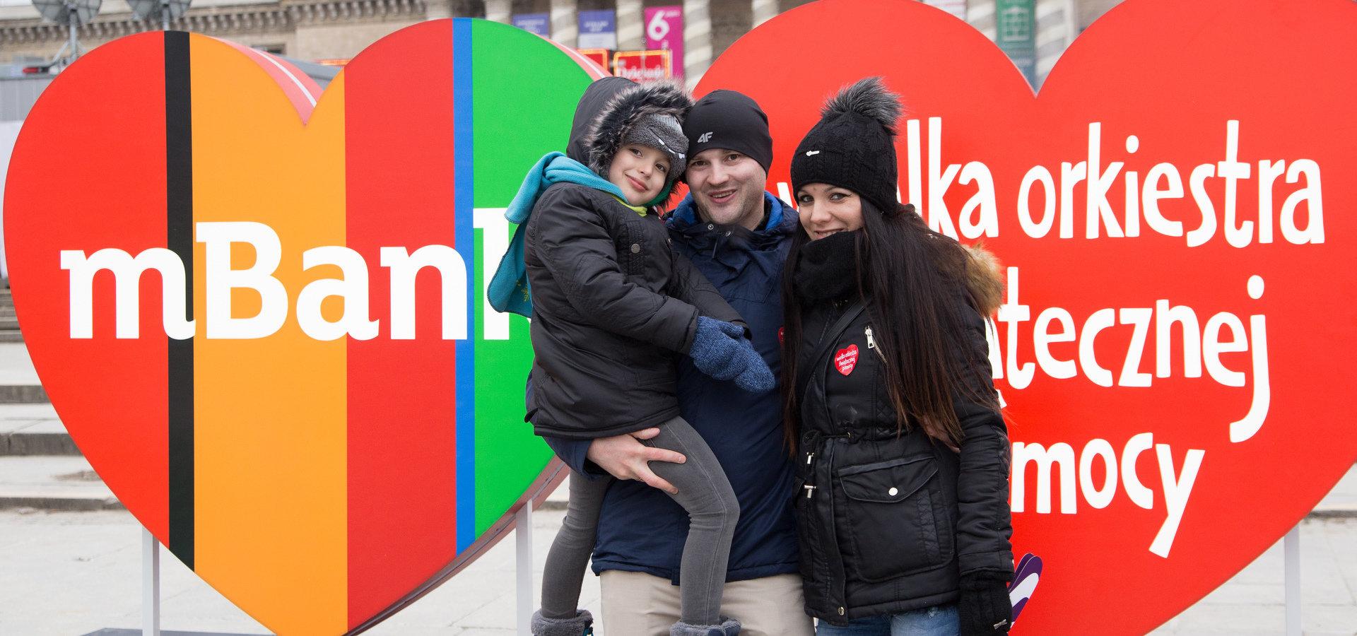 mBank przekaże WOŚP dodatkowo 77 tys. zł