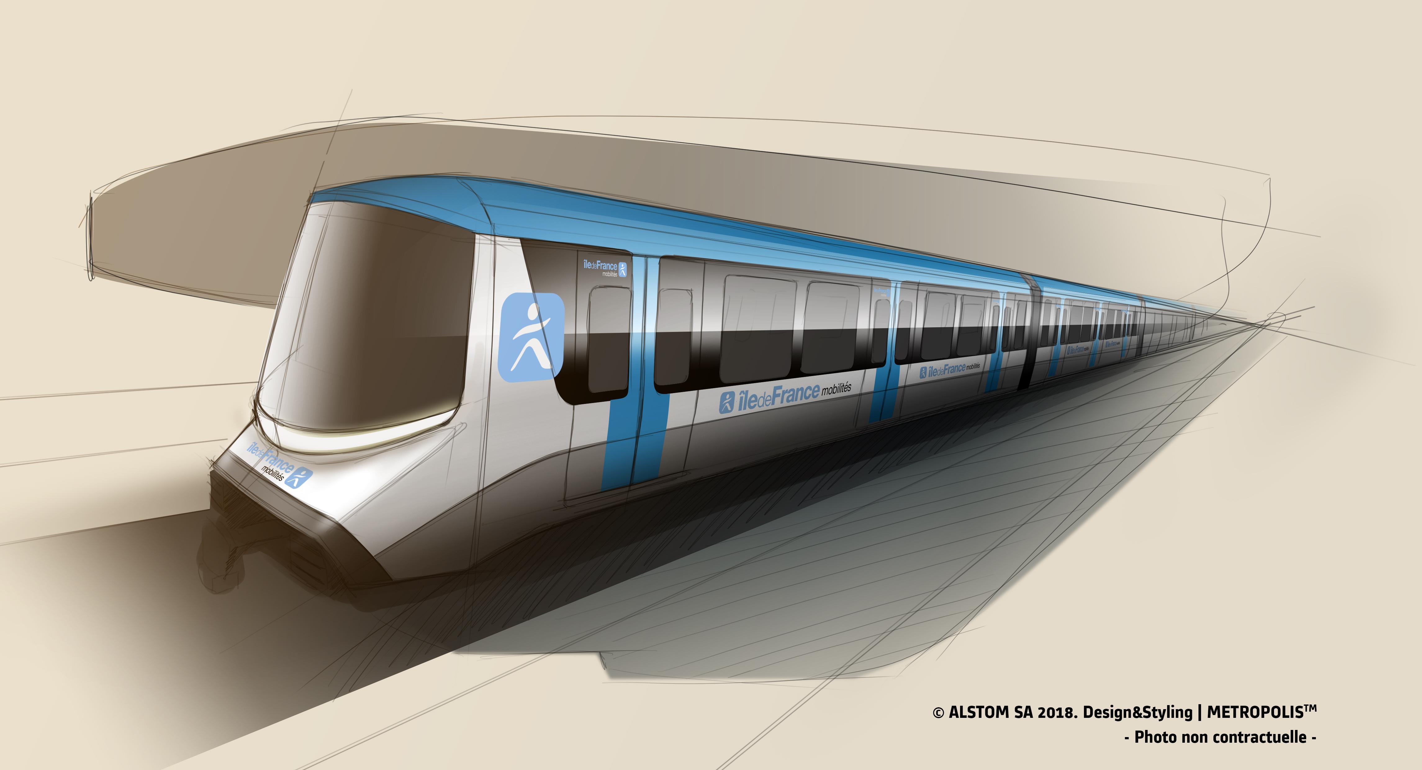 Société du Grand Paris, w porozumieniu z Île-de-France Mobilités, wybiera Alstom jako dostawcę pociągów dla   linii 15, 16 i 17 Grand Paris Express