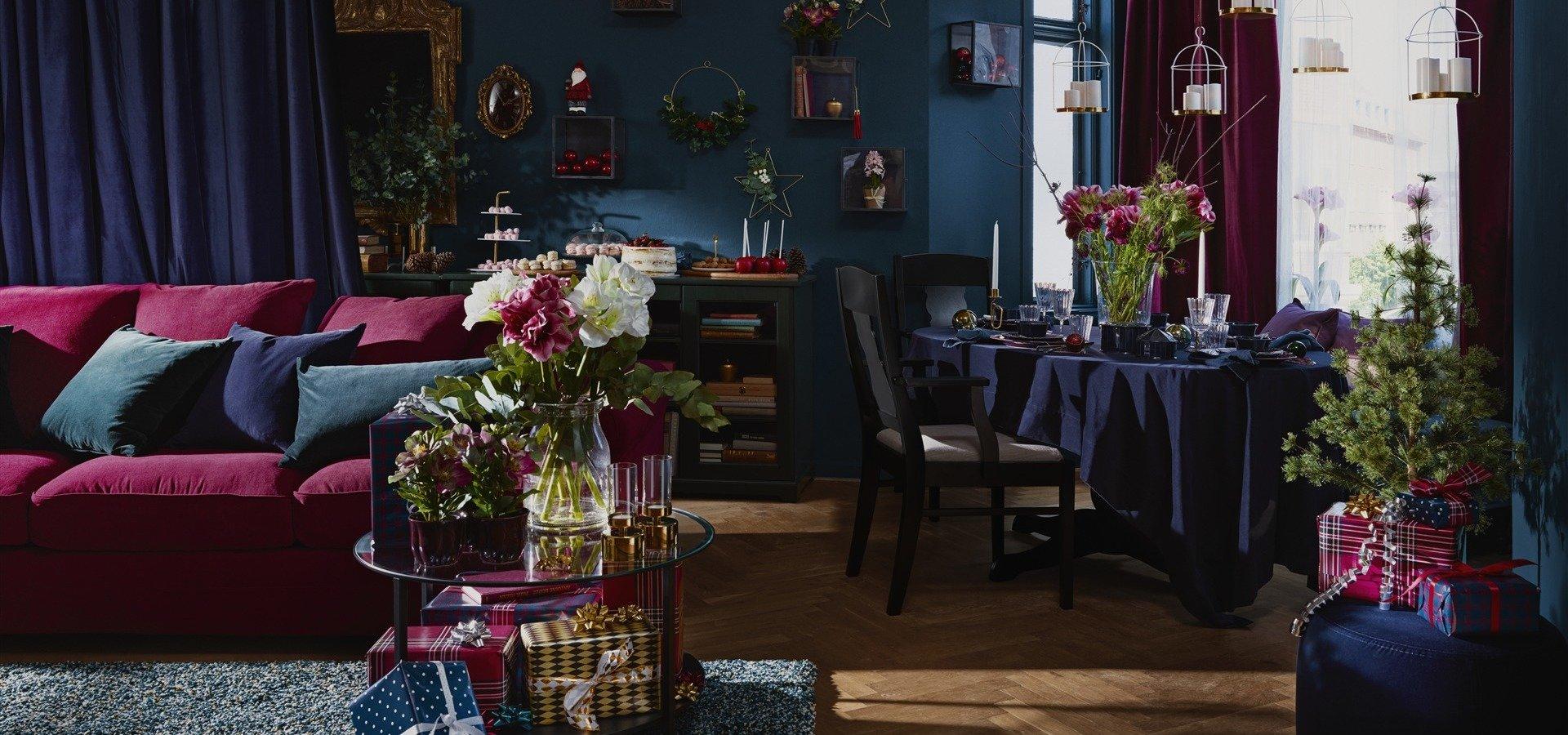 Niech żyje magia świąt! Z kolekcją IKEA VINTER 2018 podaruj bliskim święta, o jakich marzą.