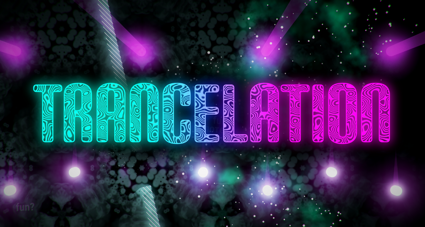 Trancelation, a neon arcade game about language learning, is now available on Steam's Early Access!