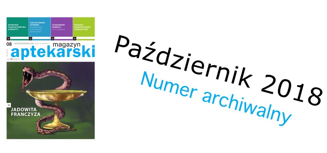 Magazyn Aptekarski nr 8/październik 2018