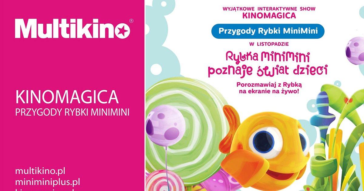Nowe pokazy Rybki MiniMini w Multikinach w całym kraju już w listopadzie