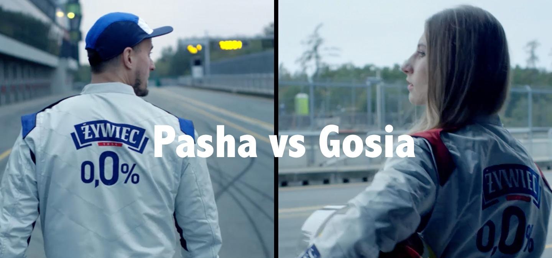Gosia Rdest – najszybsza Polka i e-sportowiec Pasha w kampanii Żywiec 0,0%