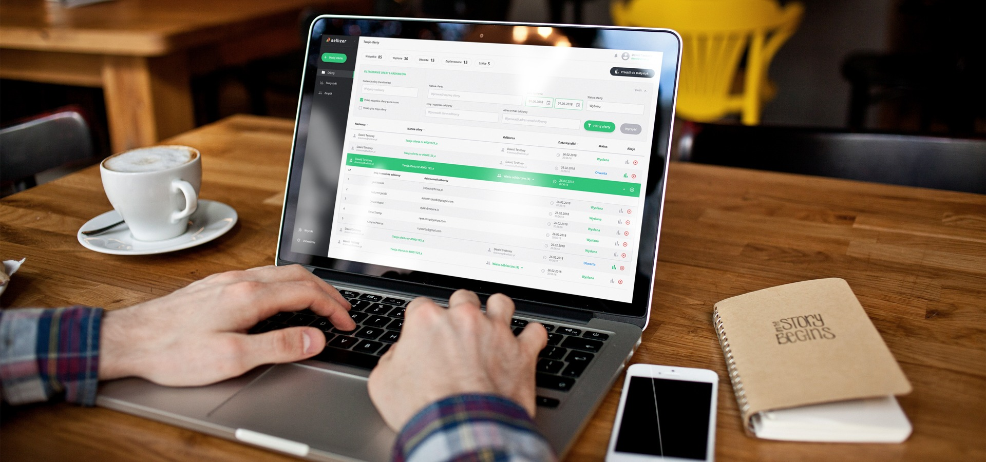 Innowacyjne narzędzie dla sprzedawców - Sellizer.pl pozyskał inwestora.