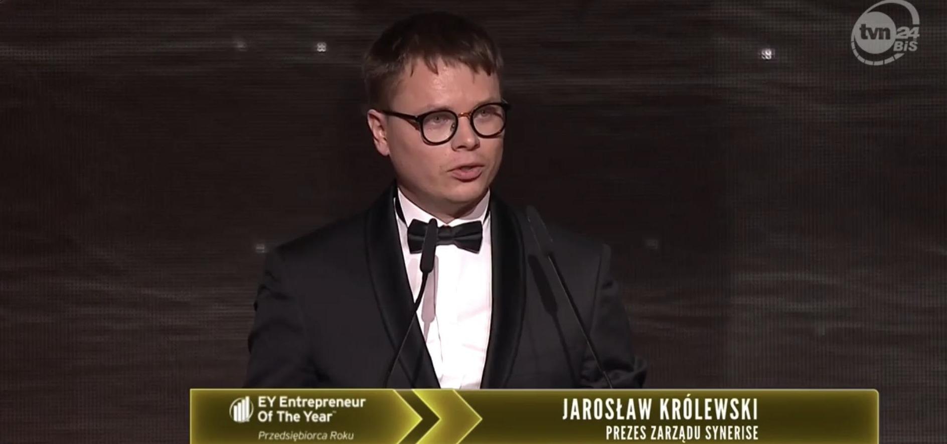 EY Entrepreneur of the Year 2018: Jarosław Królewski with a special jury award