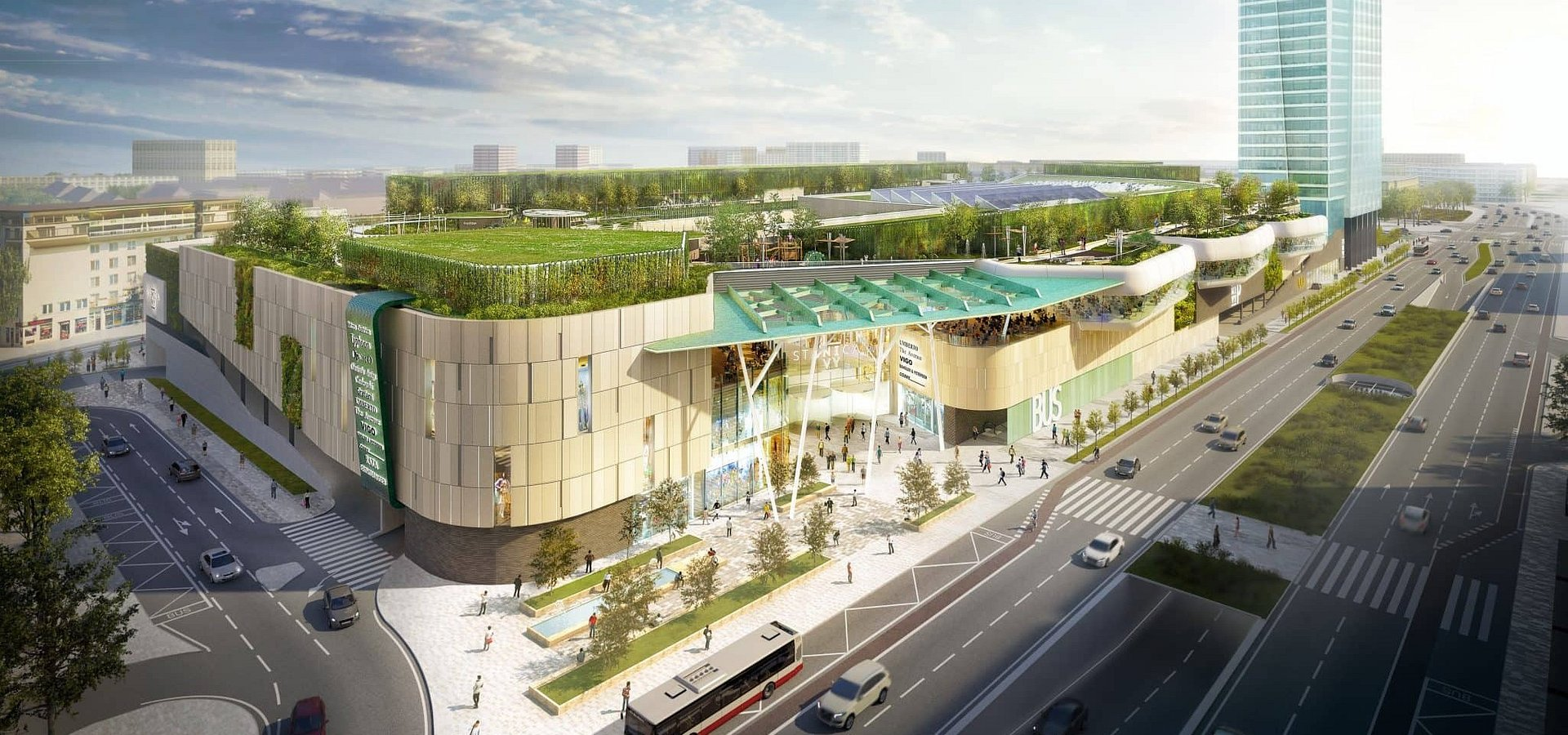 HB Reavis becomes the world's first developer to register a project with a new version of BREEAM Communities International