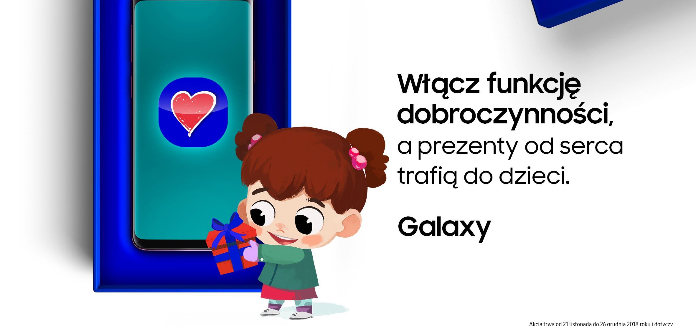 Smartfony Samsung z #FunkcjąDobroczynności – wystartowała świąteczna kampania marki