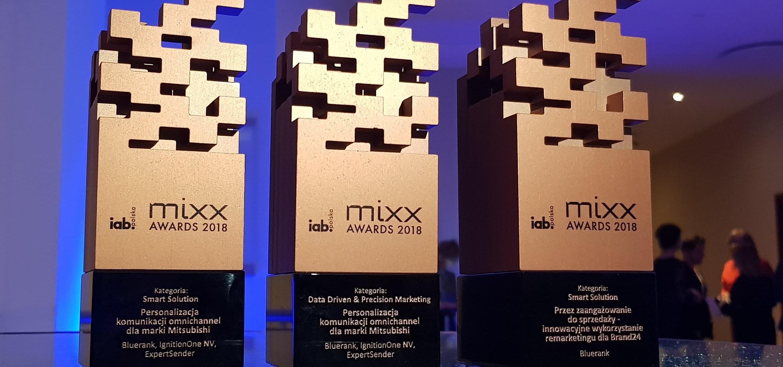 Trzy statuetki MIXX Awards dla Bluerank