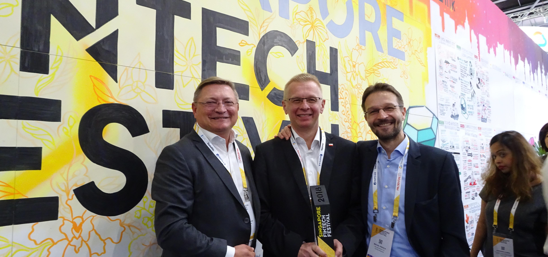 Billon Group Wins BakerADVANCE Award under Global FinTech Hackcelerator Programme of Singapore FinTech Festival