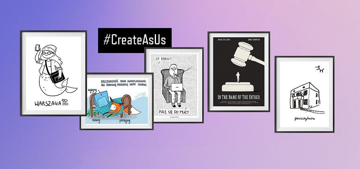 #CreateAsUs w minimalistycznym stylu na Targach Plakatu!