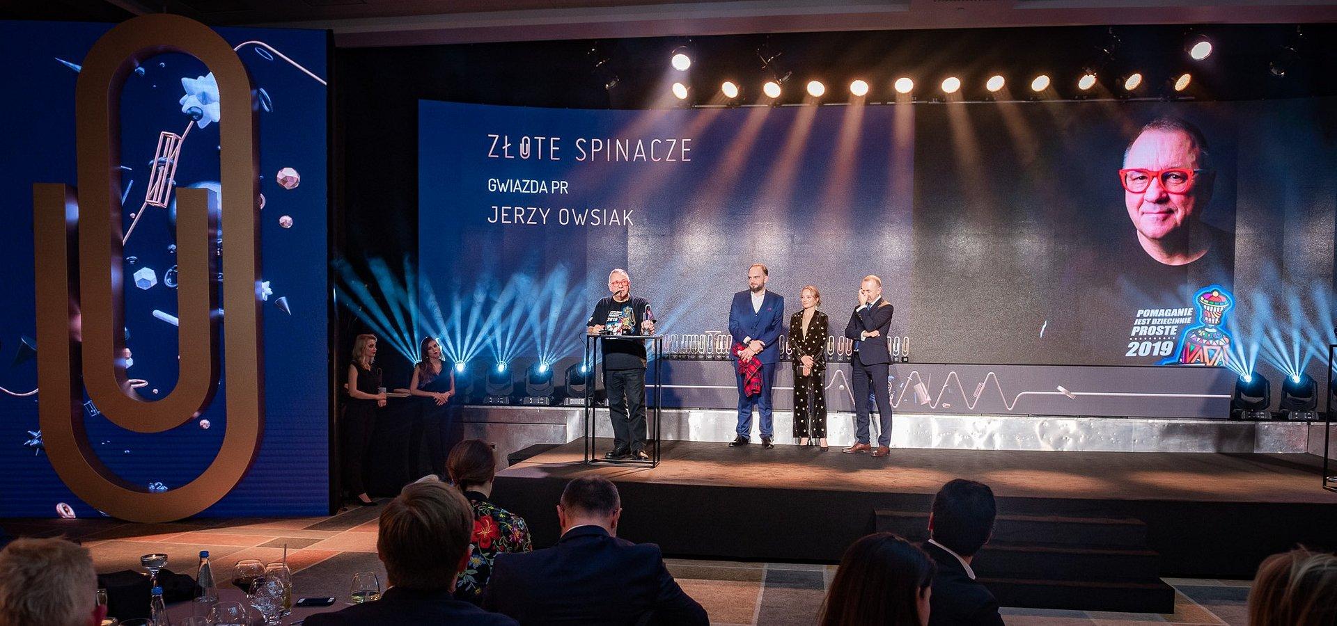 Aż 6 nagród w Konkursie Złote Spinacze dla Fundacji WOŚP