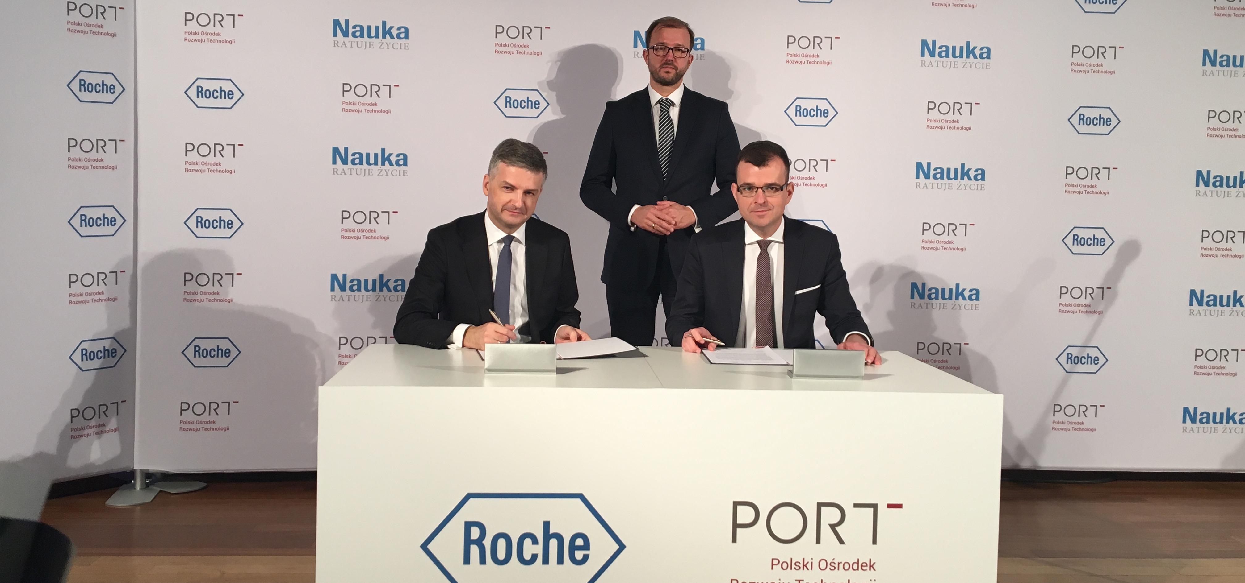 PORT Polski Ośrodek Rozwoju Technologii nawiązuje strategiczne porozumienie z Roche Polska
