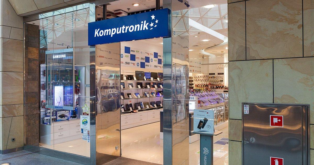 Nowy, ekspercki salon Komputronik już od 20. grudnia w Galerii Poznań Plaza