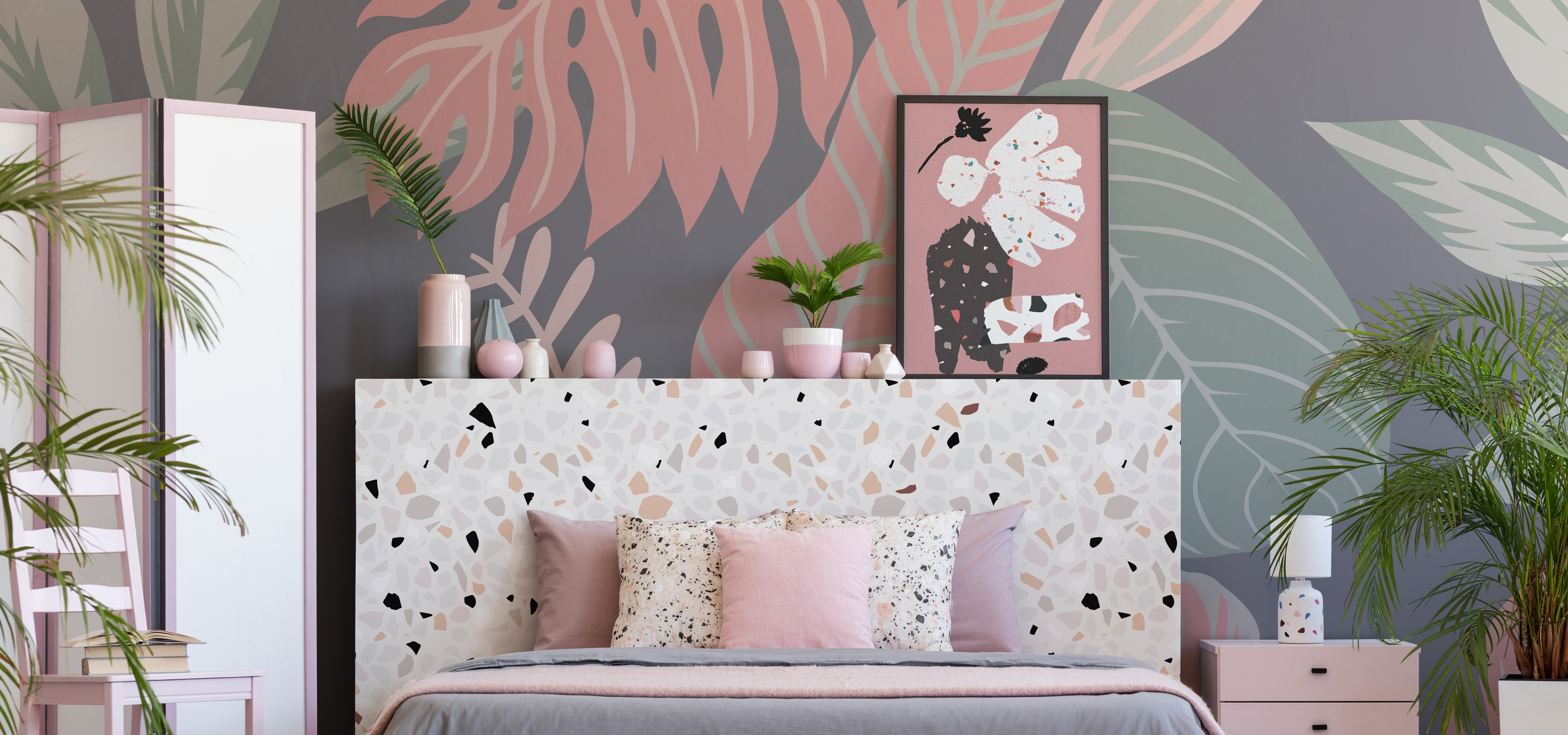 Harmonious and original composition: how to combine patterns in interiors