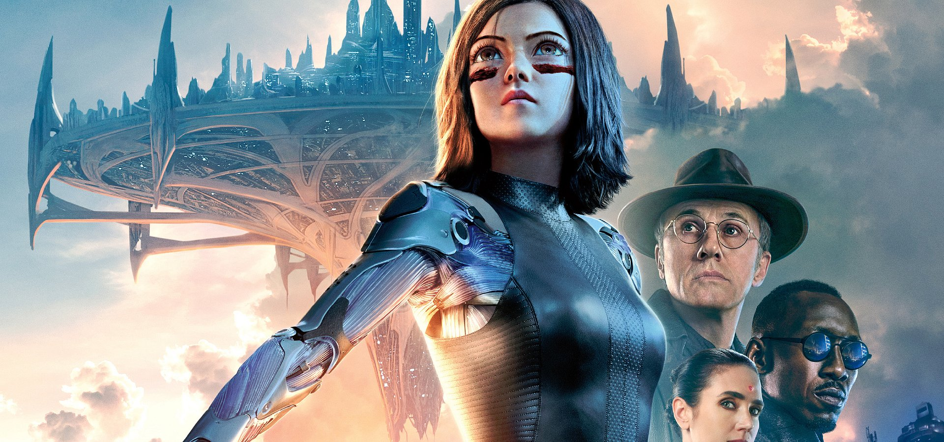 "Najnowszy plakat do filmu ""Alita: Battle Angel"""