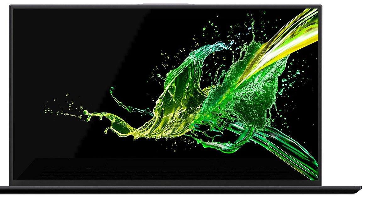 Acer Swift 7 debiutujący podczas CES 2019 waży zaledwie 890 gramów i ma niezwykle wąskie ramki