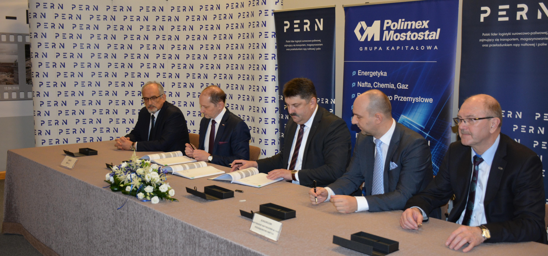 PERN zawarł umowę na rozbudowę TNG
