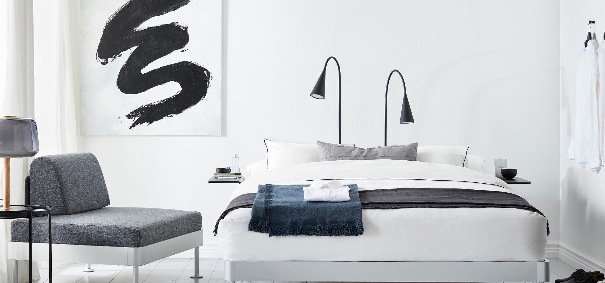 Tom Dixon i kolekcja DELAKTIG II.Tym razem IKEA przygotuje na wszystkie zwroty akcji w… sypialni.