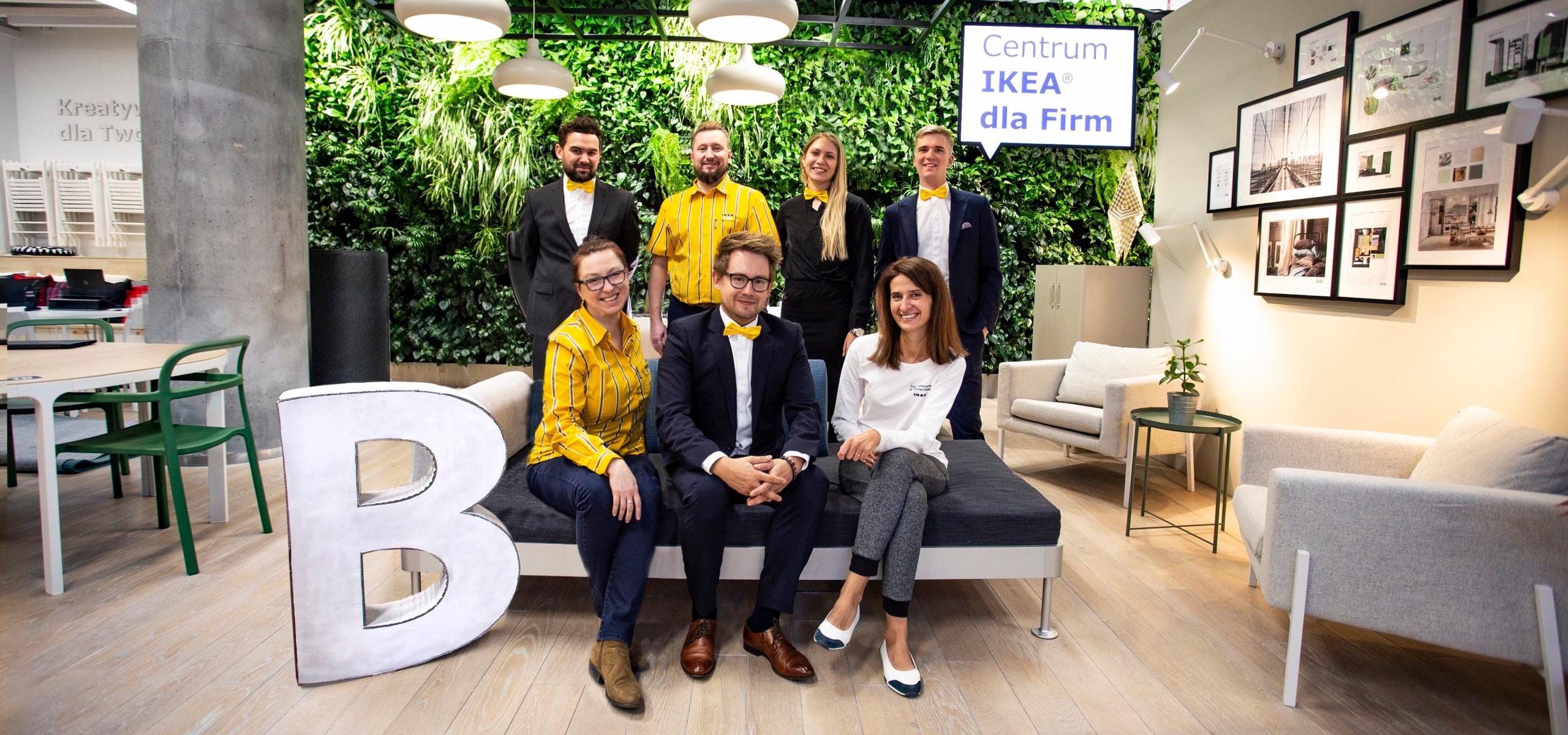 Własne B. nawiązuje współpracę z Centrum IKEA dla Firm. Ruszył wynajem pierwszych biur
