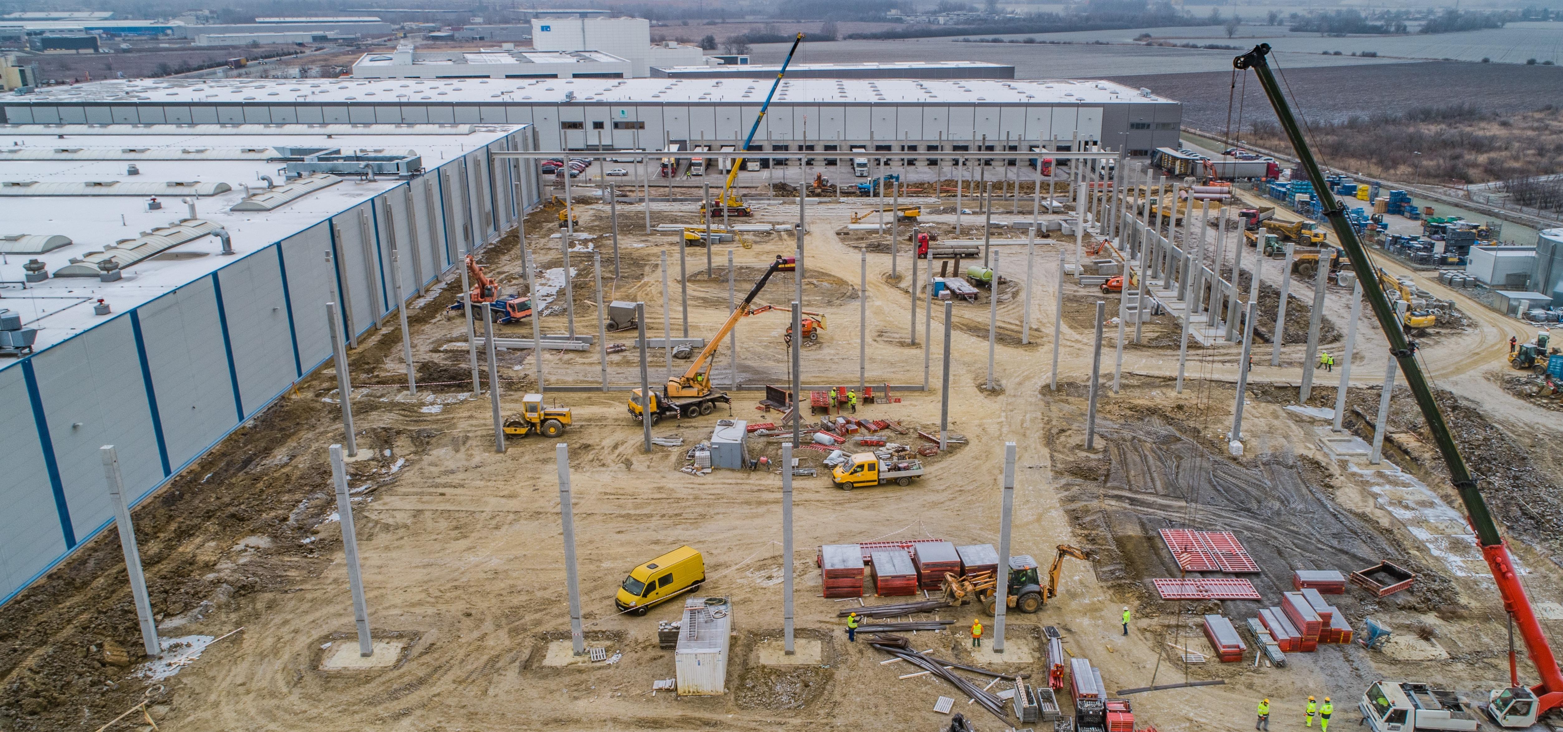ANTCZAK Construction buduje dla Goodman Group we Wrocławiu