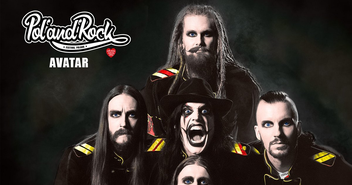 Avatar joins Pol'and'Rock line-up