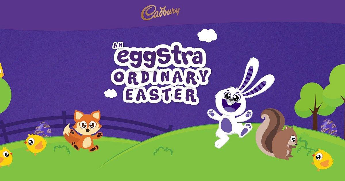 Enjoy an EGGstra-ordinary Easter with Cadbury