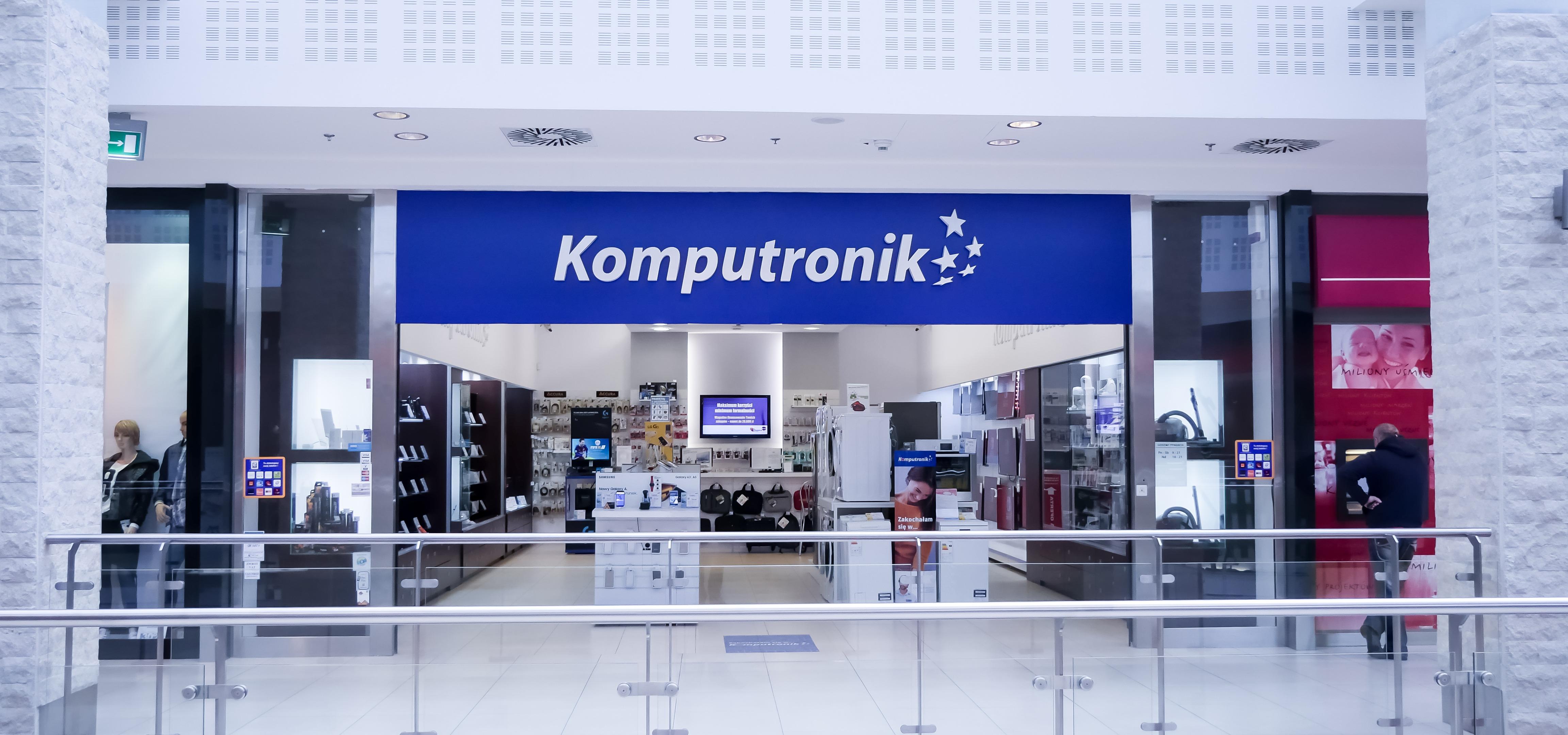 Nowy salon Komputronik w Koszalinie