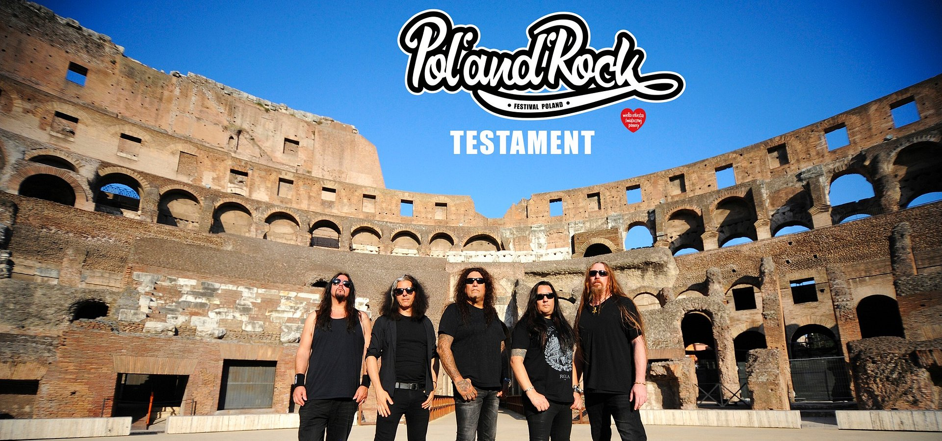 Thrash legends at Pol'and'Rock Festival