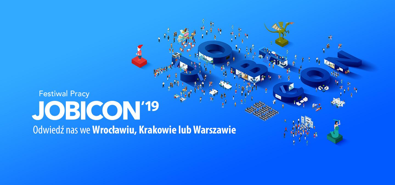 JOBICON razy trzy! Festiwal Pracy we Wrocławiu, Warszawie i Krakowie