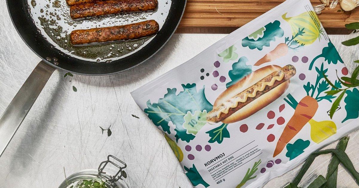 Na wiosnę wege hot dogi z IKEA przyrządzisz również w domu