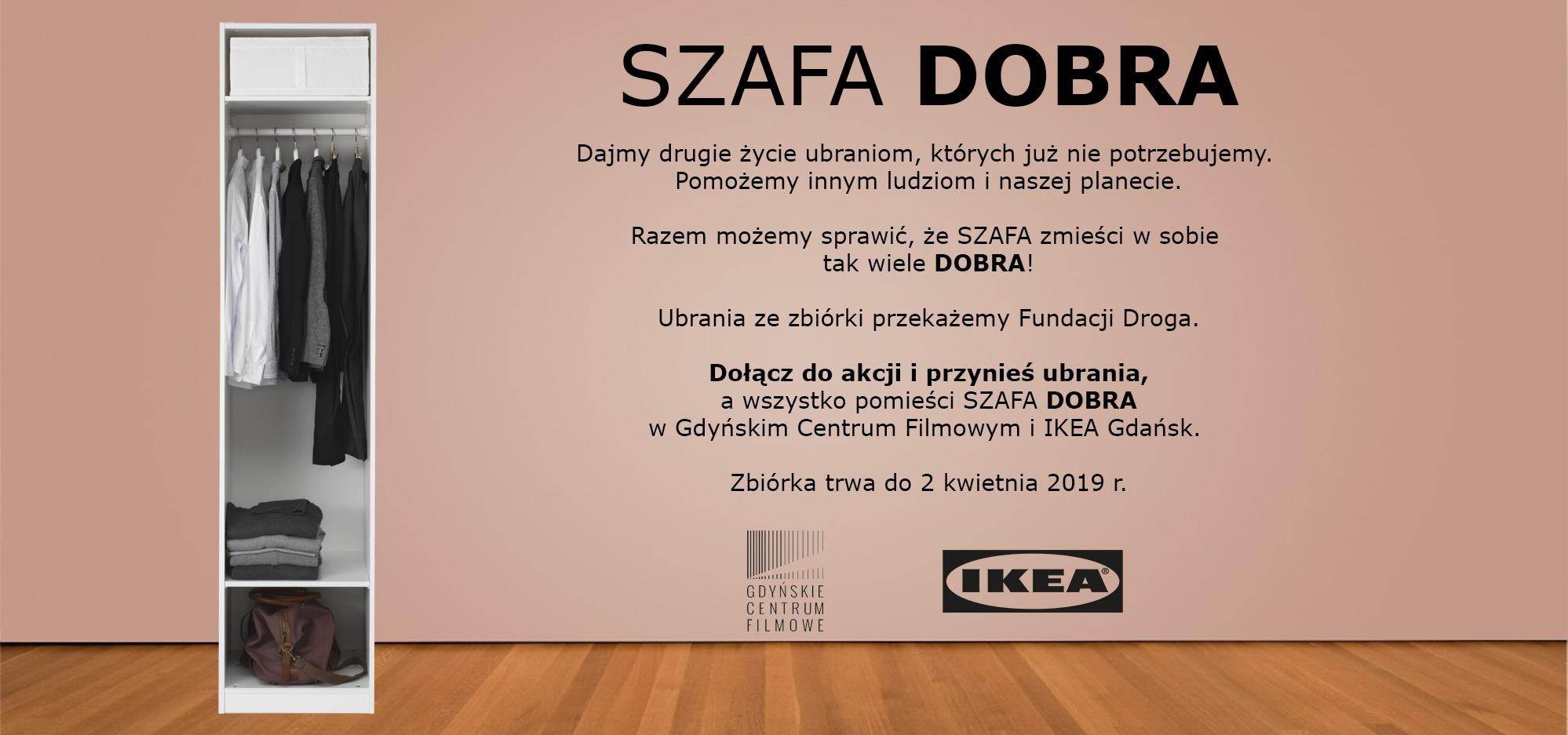 SZAFA DOBRA – nowa niezwykła akcja IKEA GDAŃSK i Gdyńskiego Centrum Filmowego