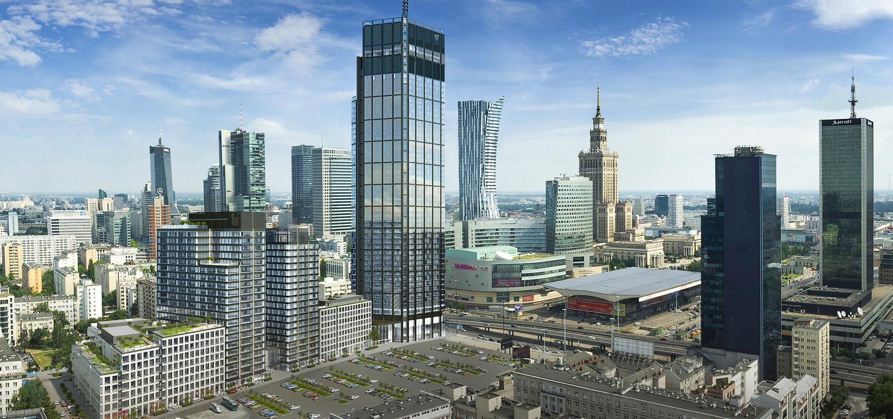 Banki wierzą w Varso Place: 350 mln euro dla HB Reavis