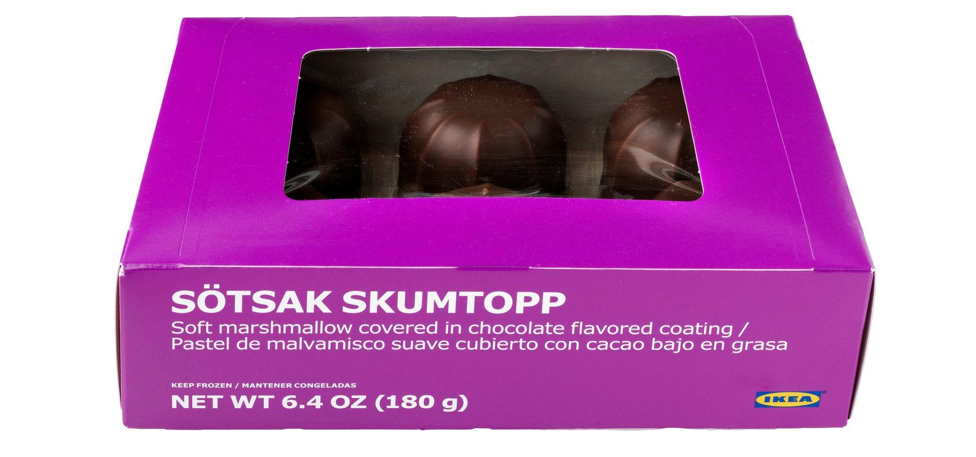 IKEA wycofuje ciasto SÖTSAK SKUMTOPP ze względu na nieprecyzyjną informację dotyczącą alergenów w składzie