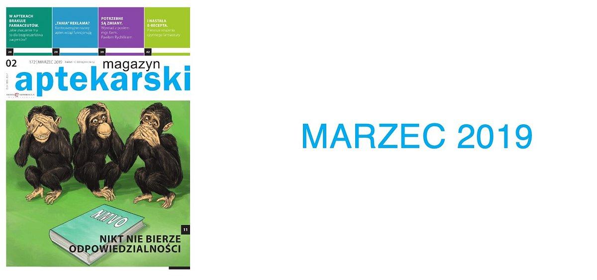 Magazyn Aptekarski - Marzec 2019