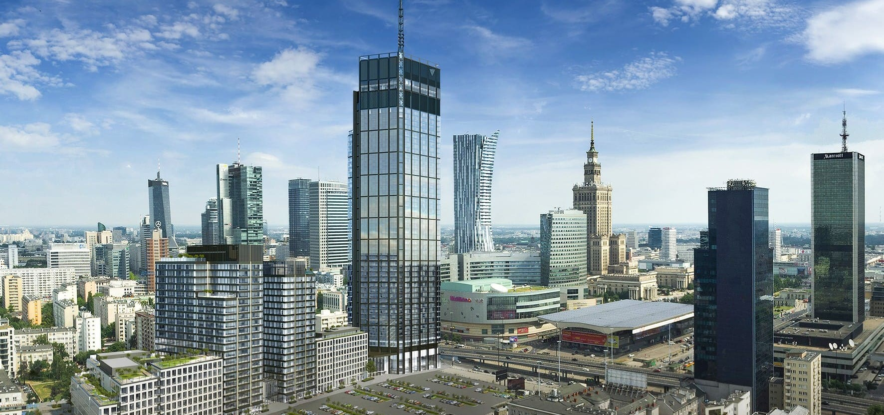 Banks trust in Varso Place: €350 million loan for HB Reavis