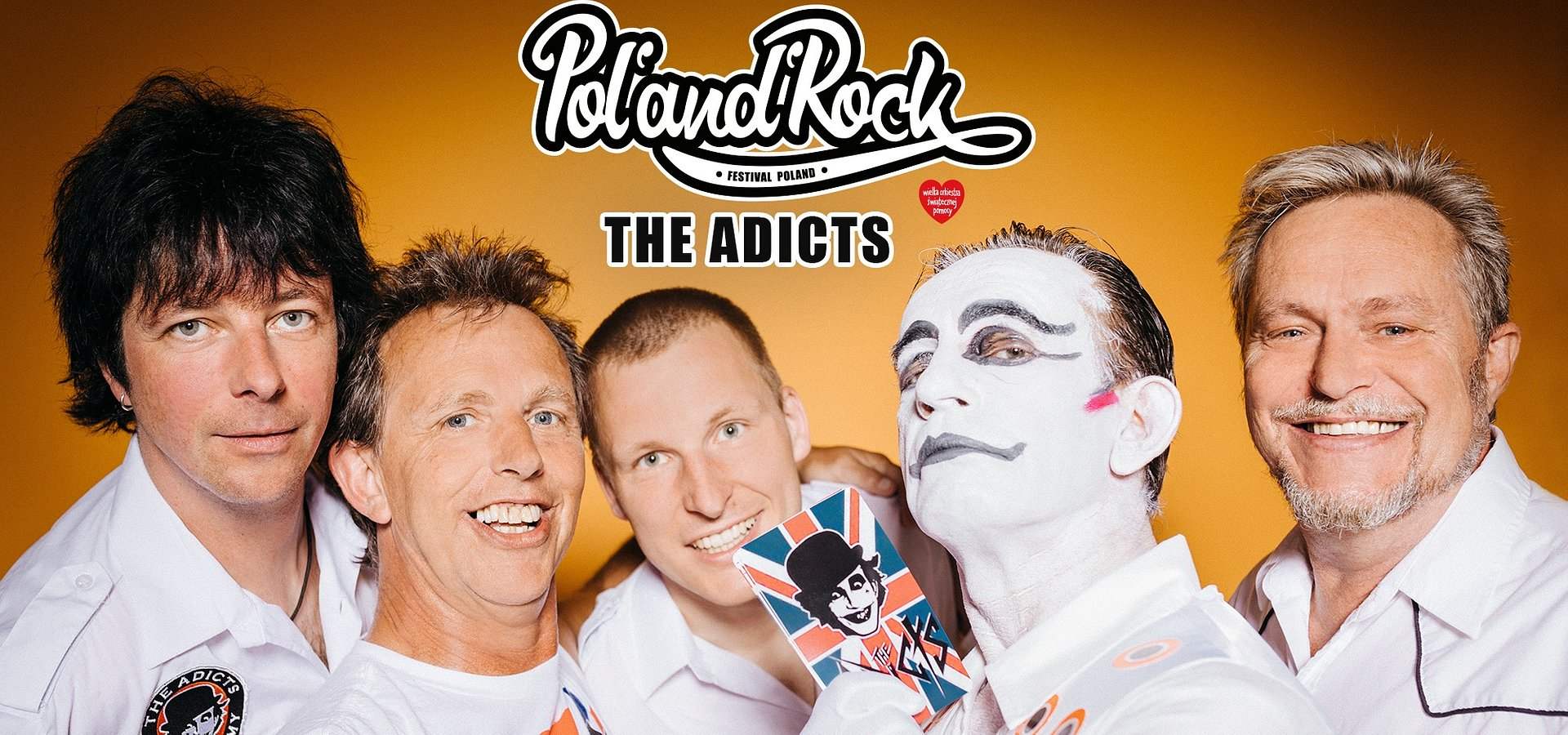 The Adicts na Pol'and'Rock Festival