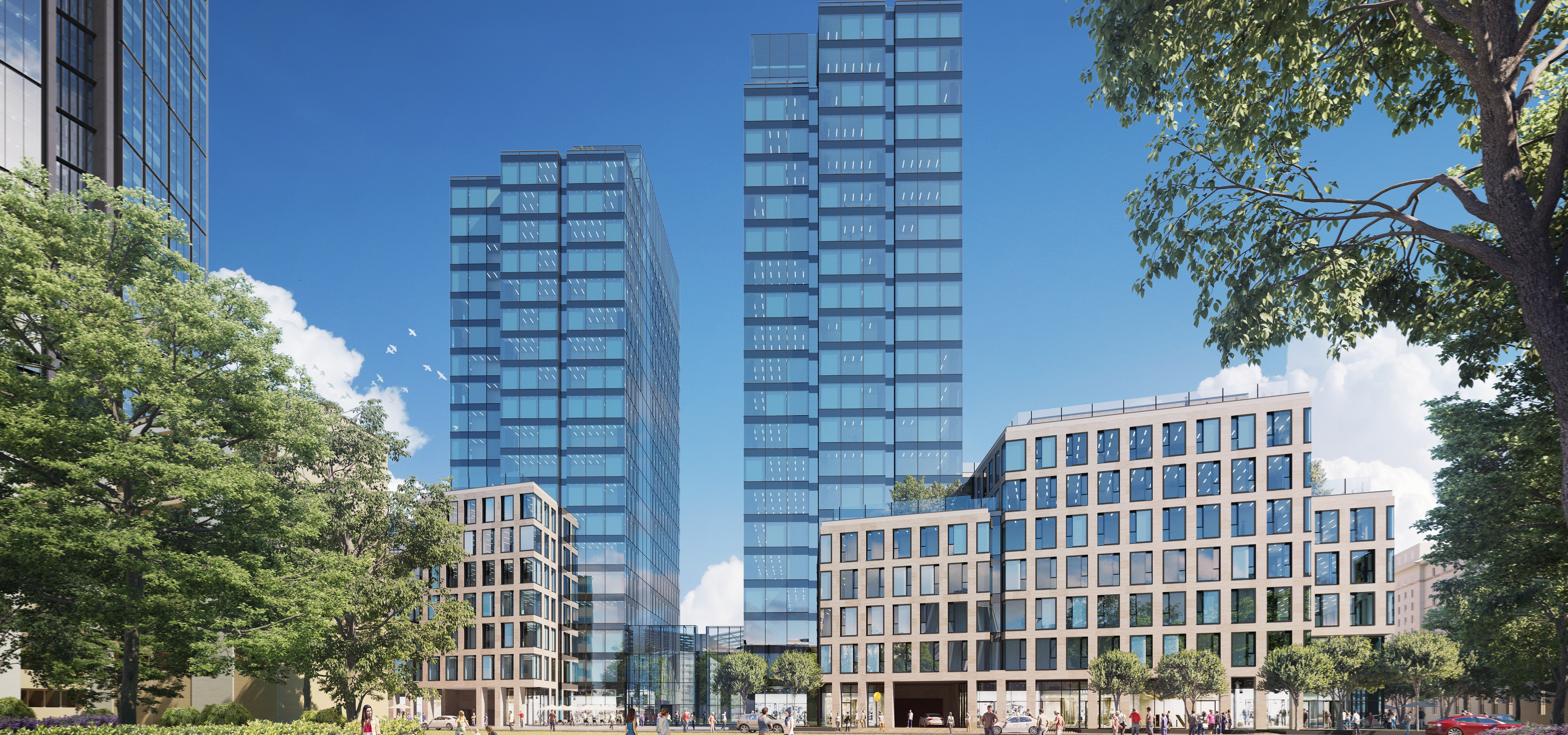 Środkowy budynek Varso Place wynajęty w 85%