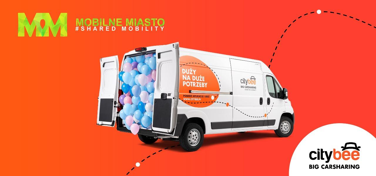 CityBee dołącza do Mobilnego Miasta by kreować przyszłość współdzielonej mobilności