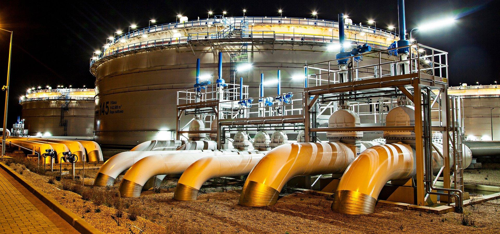 Nowe zbiorniki w TNG: przygotowania do wykonania fundamentów